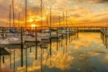 Ft Monroe Marina, James River, Va