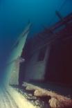 Stern Cabin On The Shipwreck America