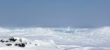 Ice Spire On Lake Superior