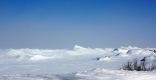 Ice Volcanos On Lake Superior