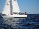 Sailing On Grand Lake, New Brunswick, Canada