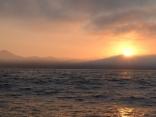 sunrise off cat harbor