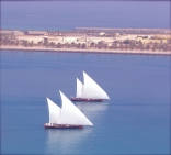 Dhows In Abu Dhabi