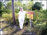 Me At My Property In The Bahamas