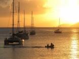 Sunset Over Cane Garden Bay