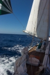 Sv Abrazo Sailing In Marquesas Islands
