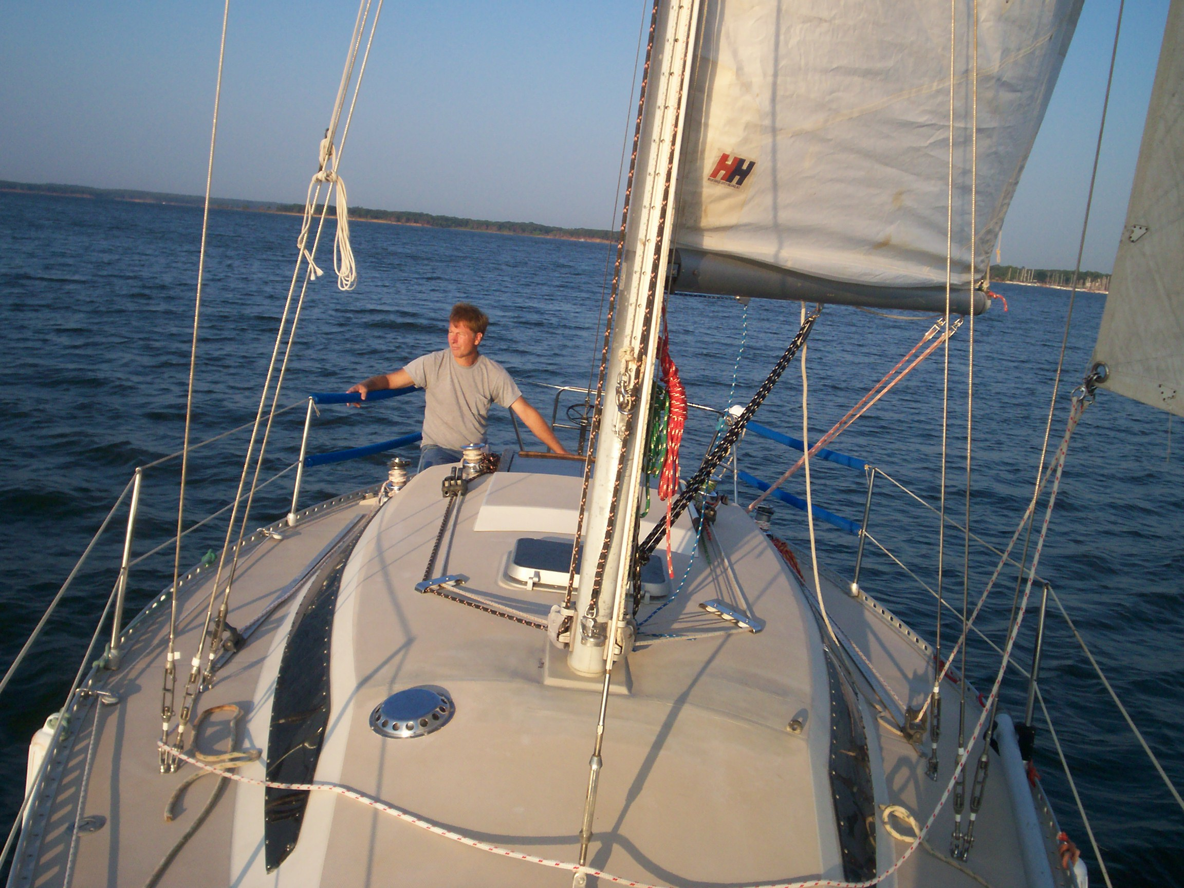 Richard At The Helm