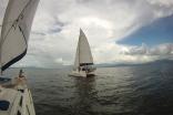 Sailing In Lago Izabal, Guatemala