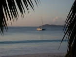 Evening in the Seychelles
