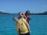 Enjoying the Seychelles