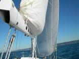 Main sail with shelf