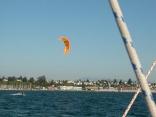More kite boarding