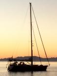 Dreamcatcher At Anchor Off Lapaz