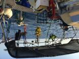 World Cruise - Storing Galapagos Fruit Off Radar Arch