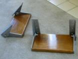 Home made folding steps