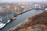 Quidi Vidi Harbour In Newfoundland