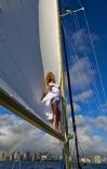 Sailing Mamala Bay