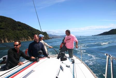 sailing french pass