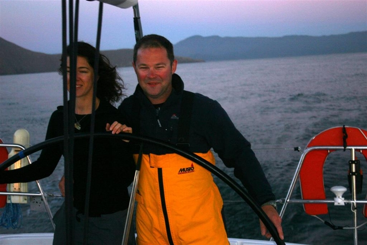 the captain & myself!!