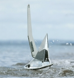 Rocna anchor on beach