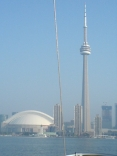 Cn Tower And Rogers Centre, Toronto, Canada