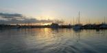 Sunrise Leaving Mallorca