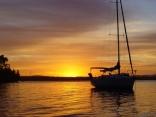 Sunset on Lake Macquarie