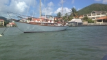Yoya In St Lucia After Repaint And New Bowsprit