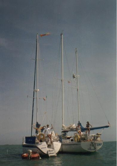 Cruising aboard Lady Linda