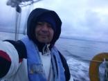 Sailing In The Straight Of Juan De Fuca