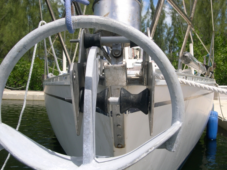 New Bow Roller To Accommodate New Manson Supreme