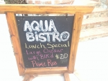 Aqua Bistro In Coral Harbor - Nice