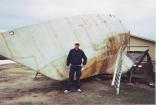 Another View Of The 47 Foot Hull