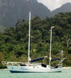 Mishiwa At Anchor