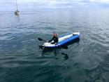 Kayak As Dinghy