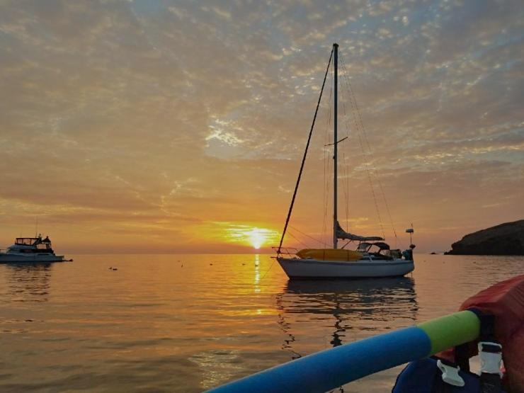 Sunrise, Santa Cruz Island
