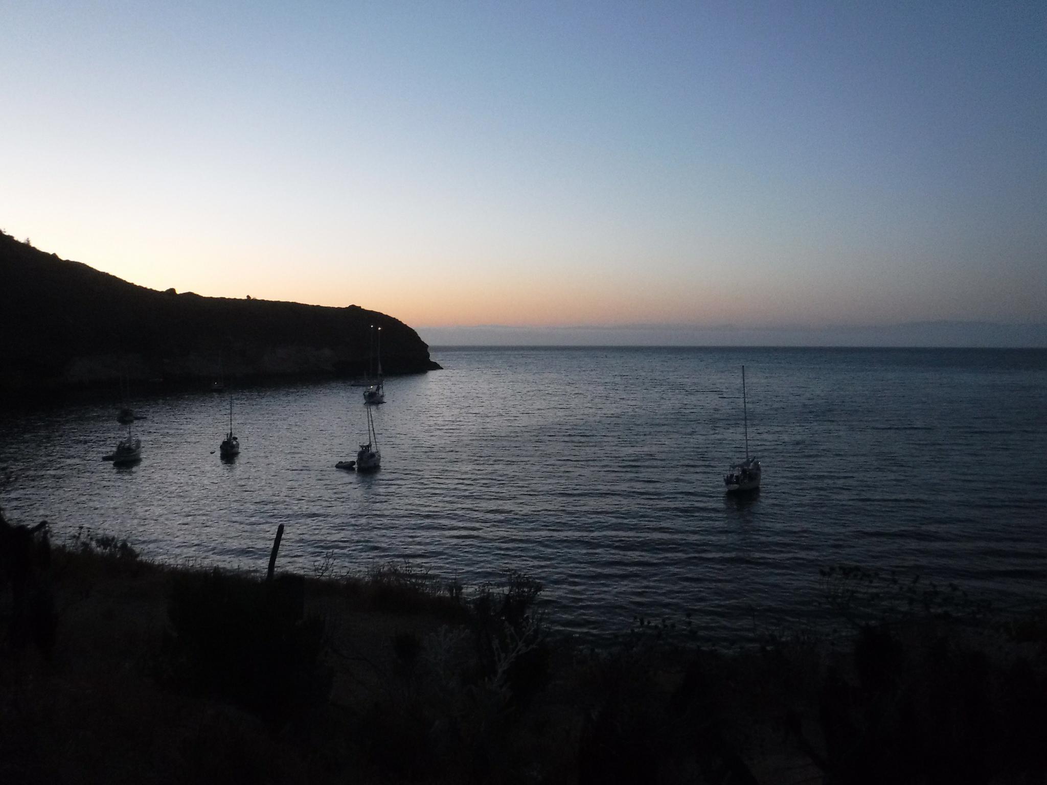 Pelican Harbor, Santa Cruz Island