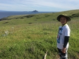Viewing Anacapa Island From Santa Cruz Island