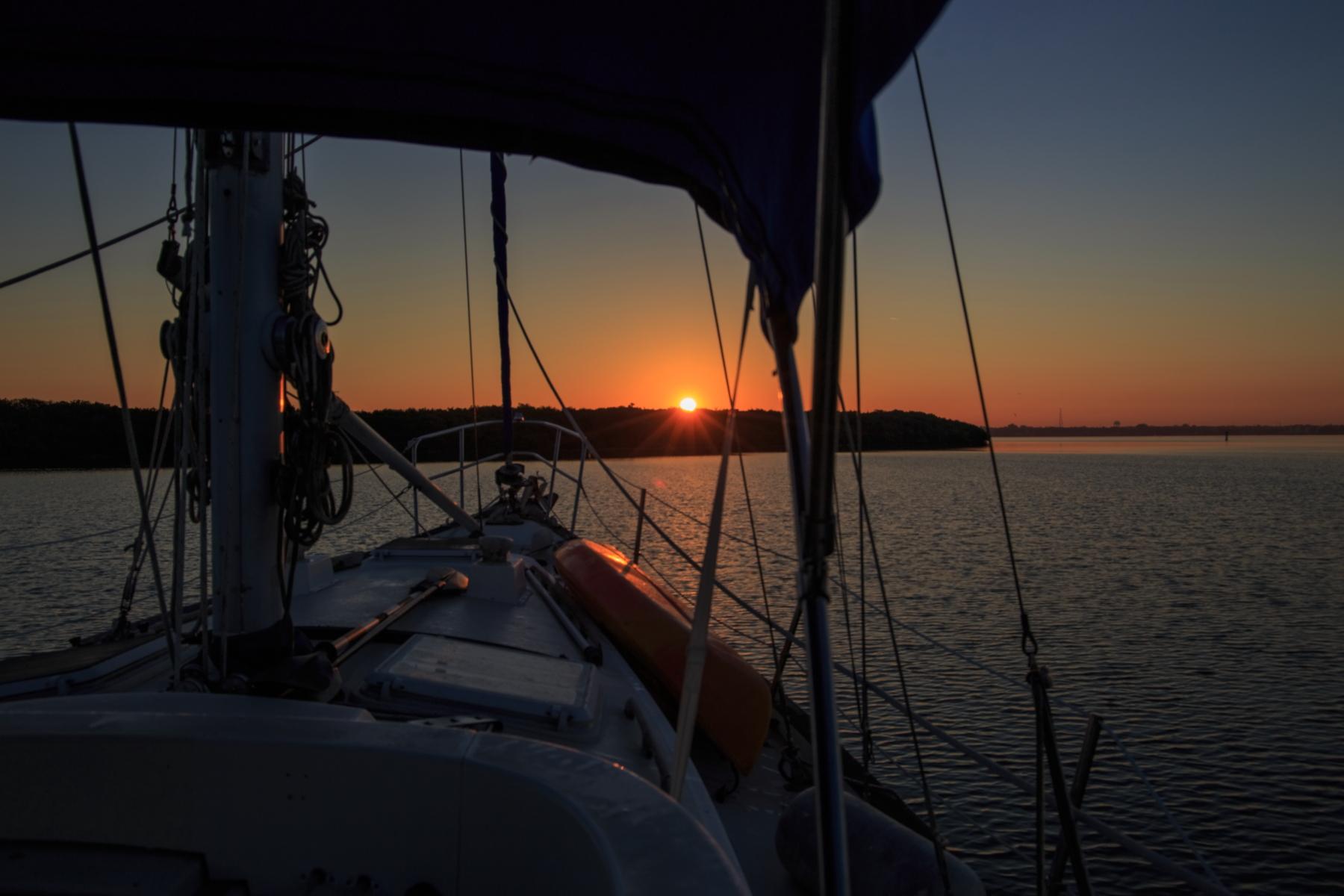 Sunrises At Moonshine Island Anchorage