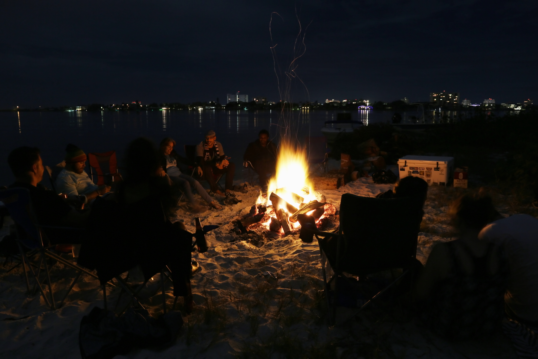 We Put The Fire In Bonfire Island Party!