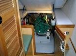 Manta engine access