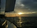 Sailing Into Biloxi Sunset
