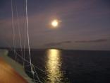 full moon dry  tortugas
