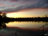 Sunset Ingrams Bayou