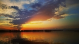 Sunset, Lake Lewisville