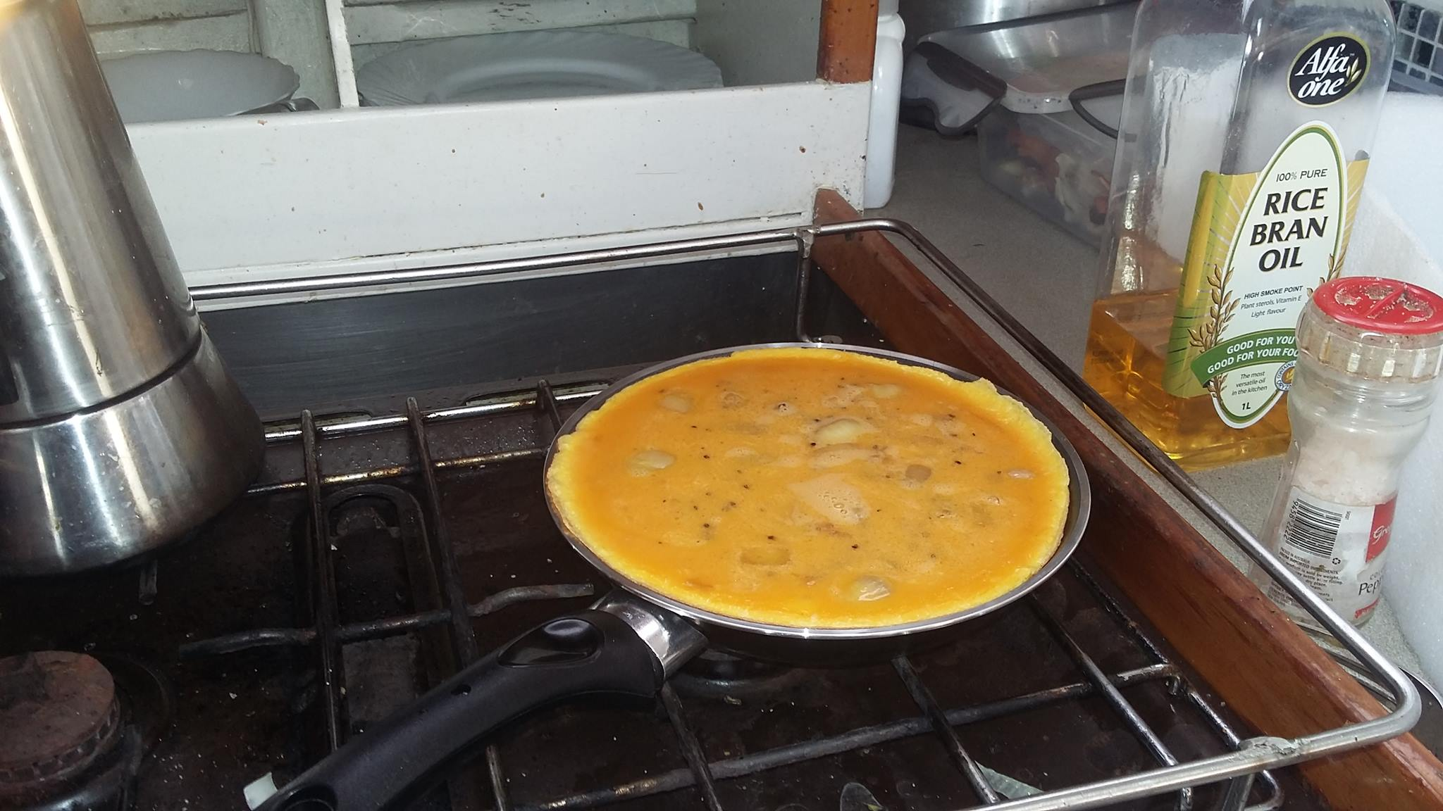 Spanish Omelette Onboard