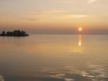 sunrise over chesapeake