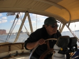 1st time at the helm