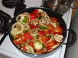Pork Tenderloin With Peppers N Onions