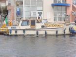 """mokita"" 30ft 1975 Dutch Steel Motor Cruiser"